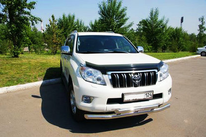 Toyota Land Cruiser Prado 2012 White
